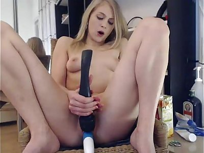 Elise Squirts on a Chair in ure Face ***  girls4cock.com